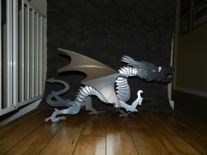 Dragon Powder coated